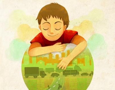 """Children Book """"Sobre Ruedas"""" (Editorial SM)"""