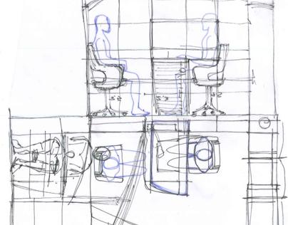 NOSTROMO BOOKCASE: STUDIO'S ARCHITECTURE