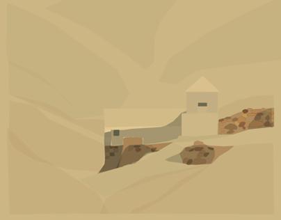 Reconstrucción virtual del Aljibe de L´Albir