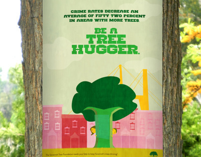 Tree Hugger Campaign (Savannah Tree Foundation)
