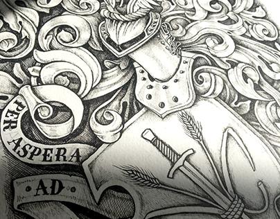 M. Kuhn Coat of Arms