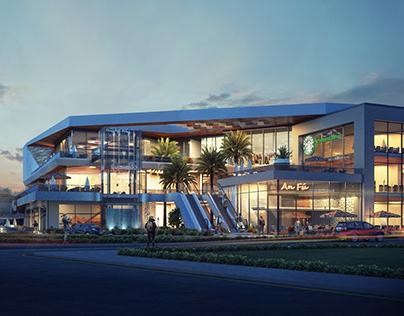 QM Mall | Design & Visualizations.