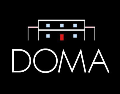 DOMA Rentals - Branding/Logo Design/Web Design