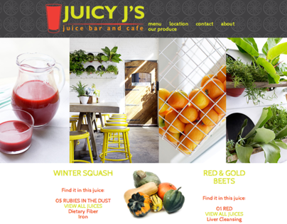 Juicy J's Juice Bar & Cafe: Website