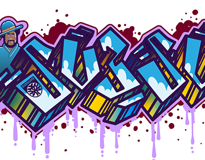 Graffiti Piece - Subsume for GameDec by Anshar Studios