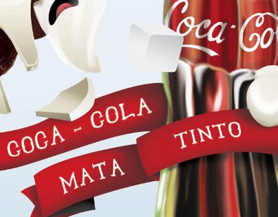 Cocacola mata tinto
