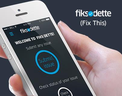 FiksDette (Fix This)