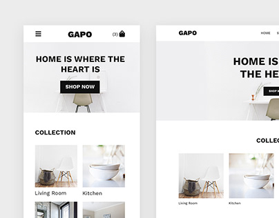 Gapo - Mobile First E-commerce Website Theme