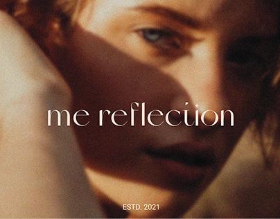 Care cosmetics me reflection | Фирменный стиль