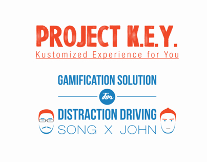 PROJECT K.E.Y. a TOYOTA collaboration UI/UX project