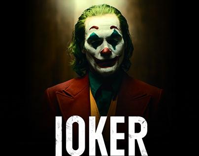 Joker 2019 web concept design
