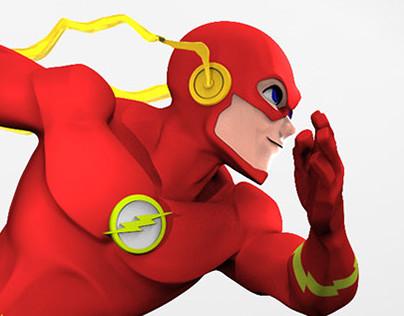The Flash 3D sculpt