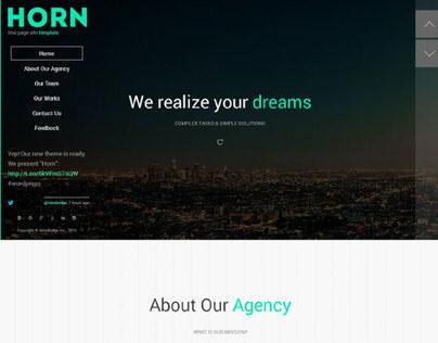 Horn WordPress Theme