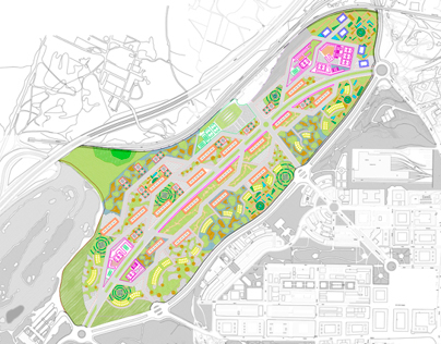 Masterplan north Madrid expansion