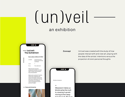 (un)veil: The Exhibition - Mobile App
