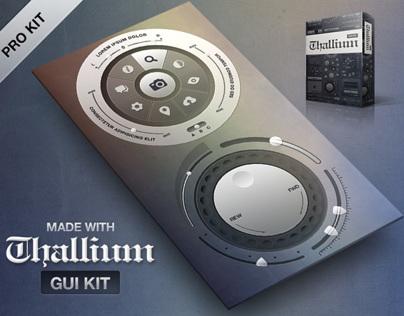 Thallium GUI KIt PSd Preview