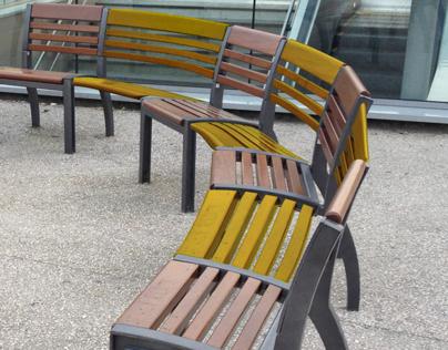 Prothèse pour mobilier urbain