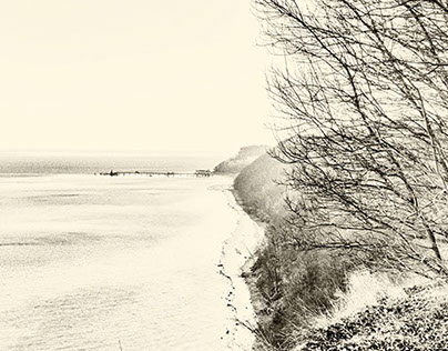 The baltic sea bnw.