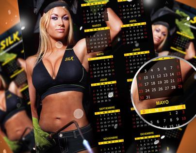 Calendarios Silk 2014