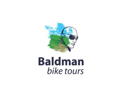 BALDMAN BIKE TOURS LOGO
