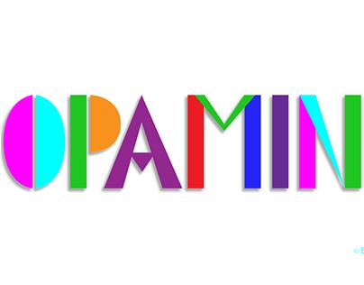DOPAMINE Lettering -Animated GIF