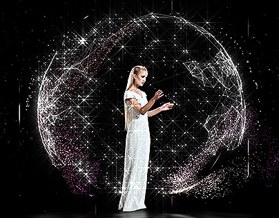 Holographic Fashion Show