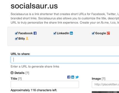 Socialsaur.us