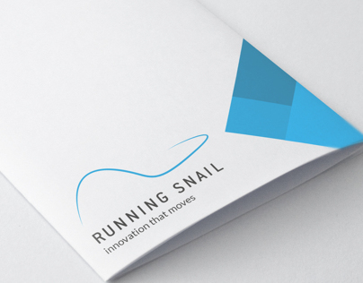 Running Snail Logodesign