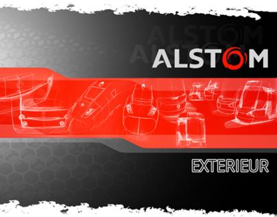 Alstom design extérieur