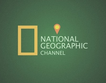 National geographic typoster
