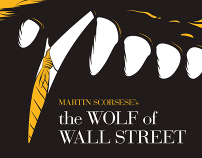 the Wolf of Wall Street | fan Poster Design
