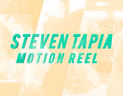 Steven Tapia Motion Design Reel 2018