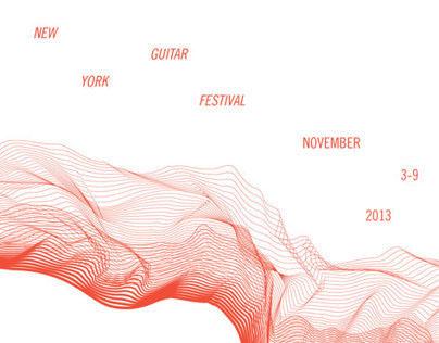 New York Guitar Festival – Poster & Promotional Flyer