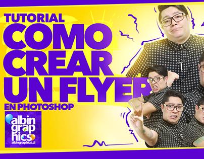"""Video tutorial """"Como crear un Flyer"""" en Photoshop"""