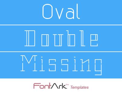 New font templates to FontArk.net