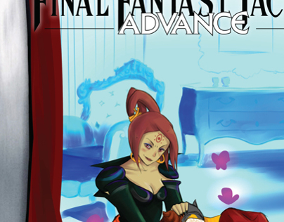 Rediseño portada de video juego Final Fantasy Tactics