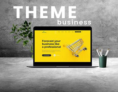 BUSINESS & FINANCE Web Theme