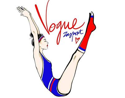 Zasport x Alena Lavdovskaya: prints for t-shirts