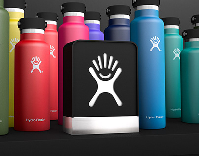 Hydro Flask Retail Shop in Shop