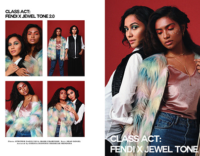 Class Act: *Fendi X Jewel tone 2.0 *On the town:Local