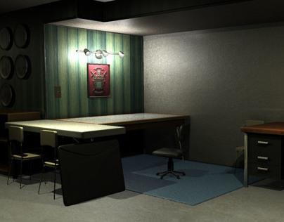 Basement Workspace - Autodesk Maya