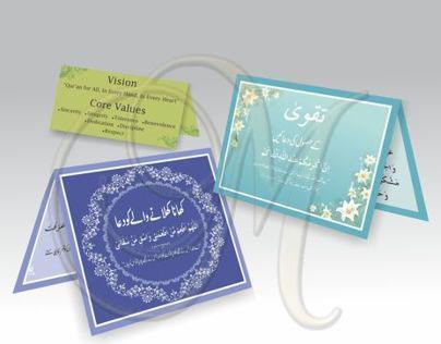 Dua & Marketing Cards