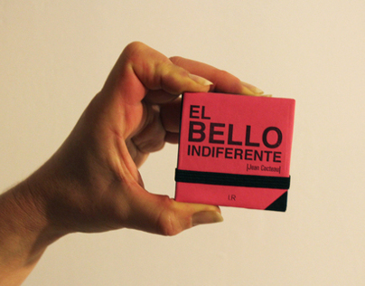 """Libro de Artista """"El Bello Indiferente"""""""