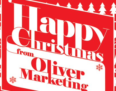 Christmas E-Card for Oliver Marketing