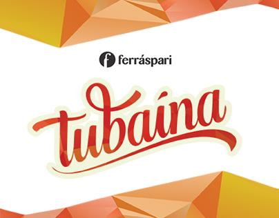 Rebranding Ferráspari + Tubaína