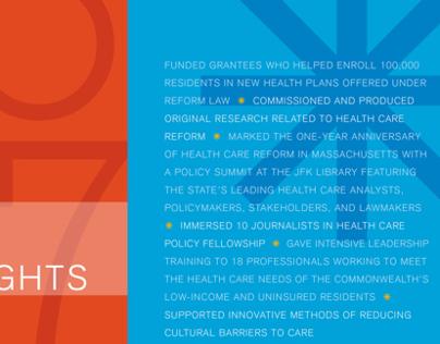 Blue Cross Blue Shield Foundation 2007 annual report