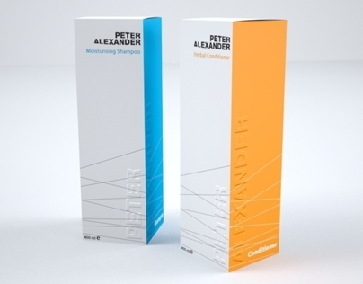 Salon Products Packaging