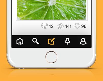 TiNY Bold - 56 UI icons