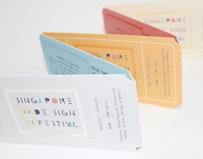 Singapore Design Festival '13
