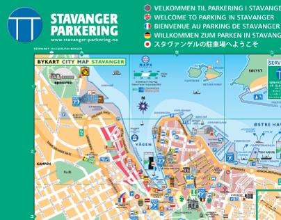 P-City Map Stavanger Norway